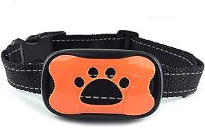 2020 Upgraded Barking Control Collar, Safe for Pets, Bark Collar - Rechargeable & Rainproof No Bark Collar Sound, Vibration Static - 7 Levels Sensitivity Small Medium Large Dog
