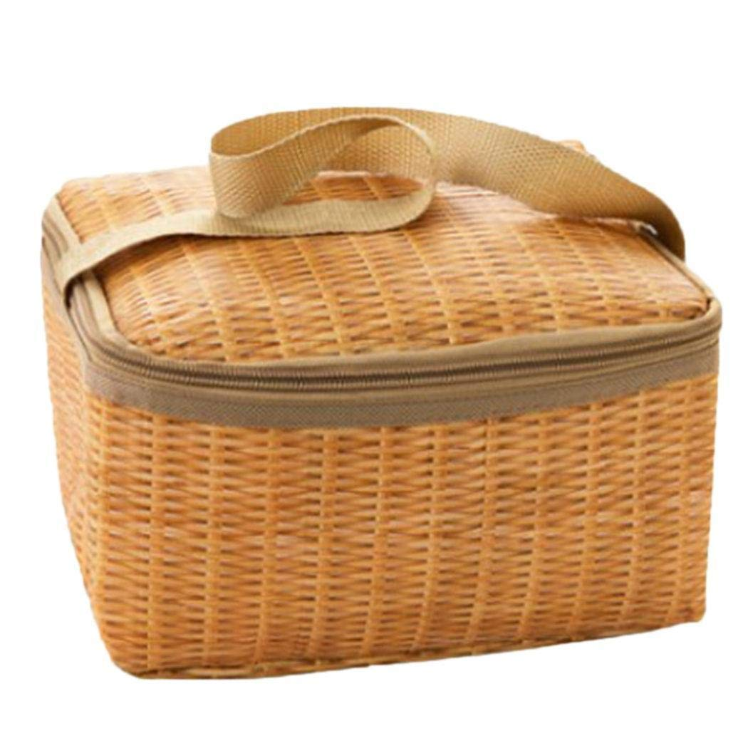 Super Cute Lunch Bag that looks like a picnic basket