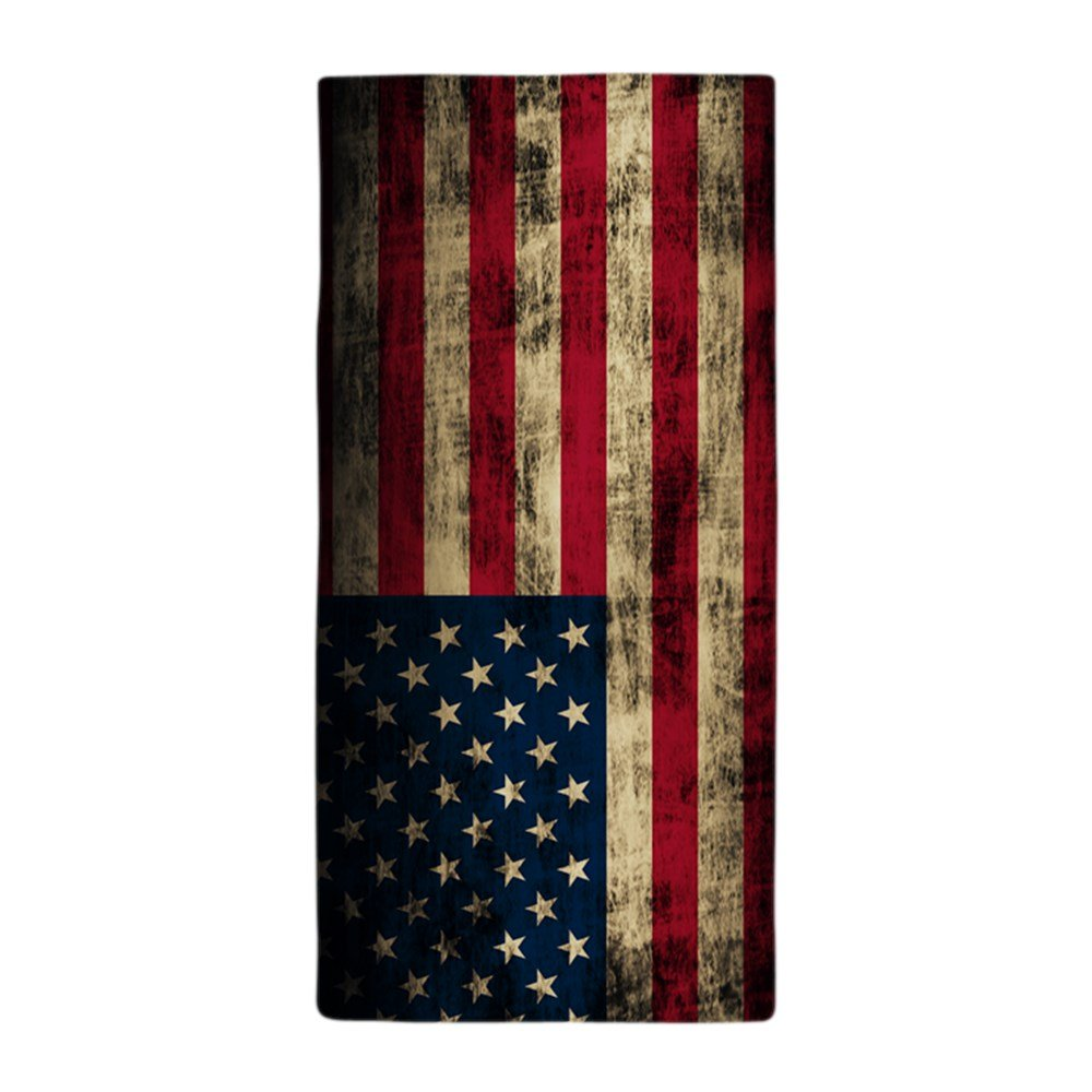 CafePress - Vintage American Flag Grunge - Large Beach Towel, Soft 30''x60'' Towel with Unique Design