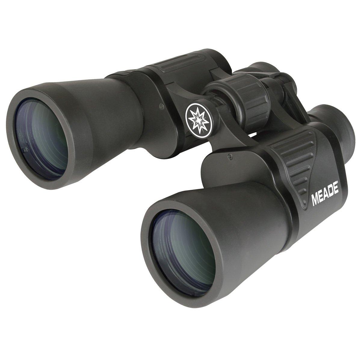 Binoculares 10x, 5 cm, Porro, Negro, Revestimiento C , 5,8/° Meade Instruments TravelView Binocular Porro Negro