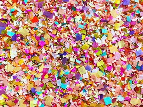 Bright Floral Multicolored Floral Confetti Biodegradable Wedding Confetti Mix Party Decorations Decor Throwing Send Off InsideMyNest (25 Handfuls)