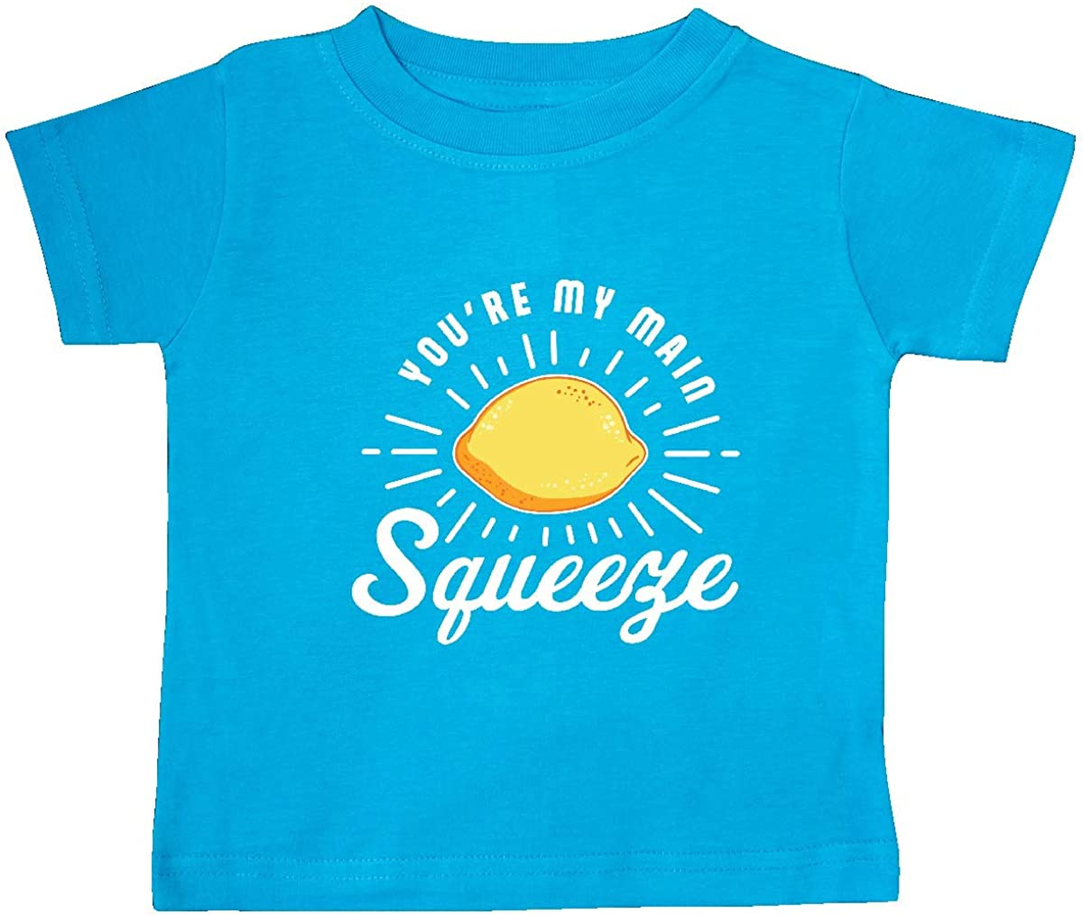 inktastic Youre My Main Squeeze with Lemon Baby T-Shirt