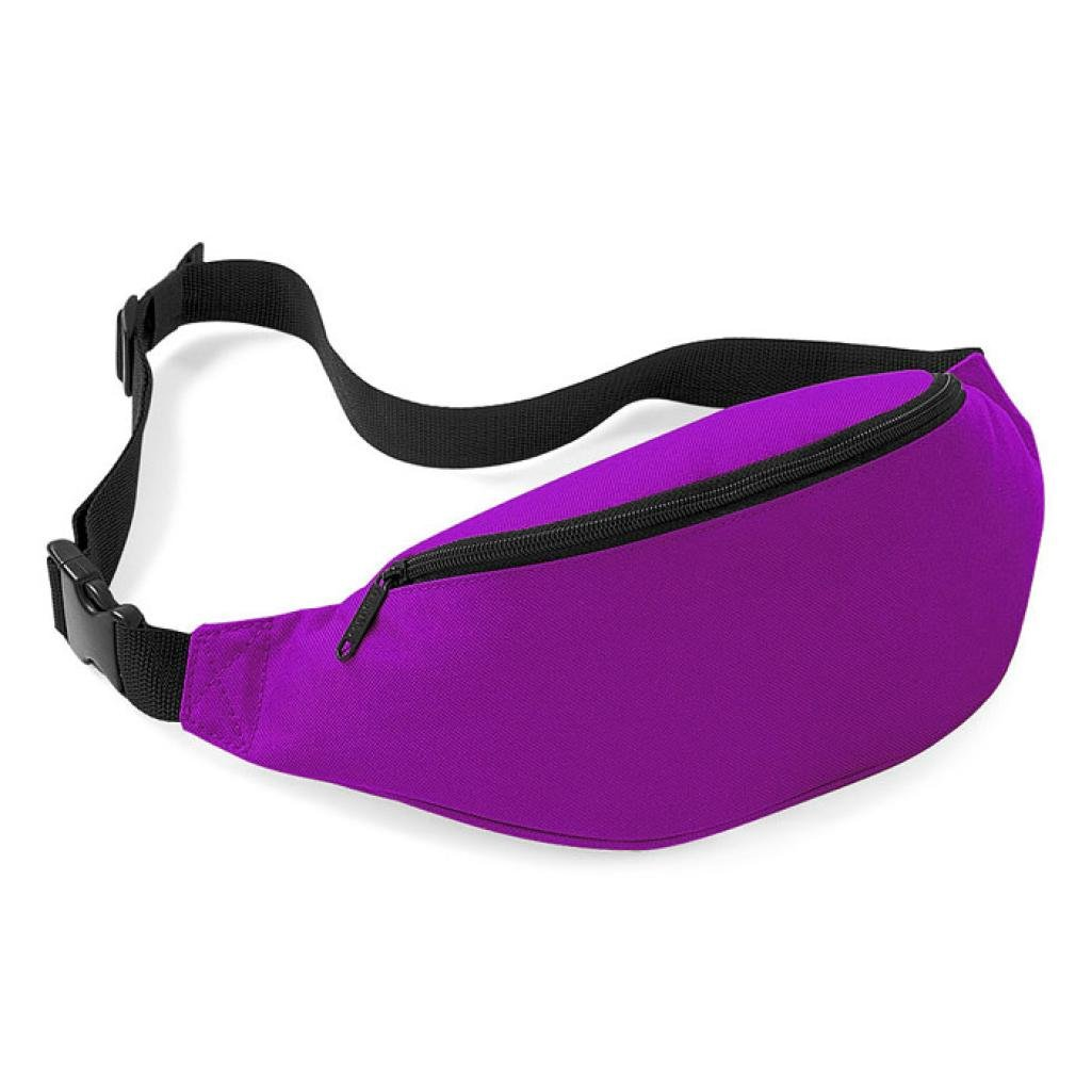 Pocciol Fashion Unisex Handy Waist Belt Zip Bag Travel Hiking Sport Fanny Pack Pouch (C)