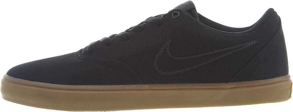 Nike Men S Sb Check Solarsoft Canvas Shoes Skateboarding