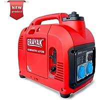 ERAYAK Generador inversor de Gasolina portátil LGY2200, Potencia máxima de 2200 vatios / 1800 vatios, Forma de Onda sinusoidal Pura, Electricidad Limpia, silenciosa y Ligera