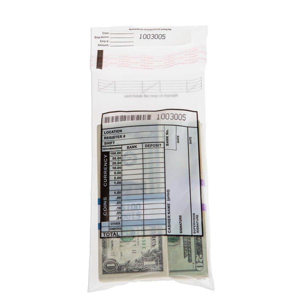 Cash Transmittal Bag - 5 x 9 - Case of 1000 Bags
