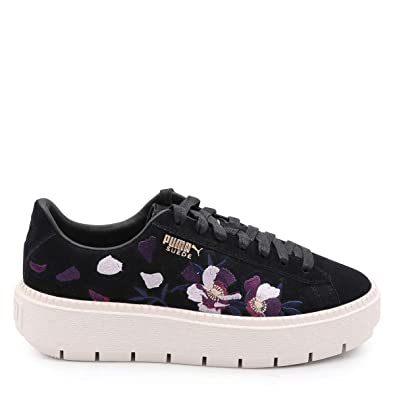 sale retailer bcb69 9cdc4 Puma Heart Flowery WN's Whisper White Rose Gold 367811 02 ...