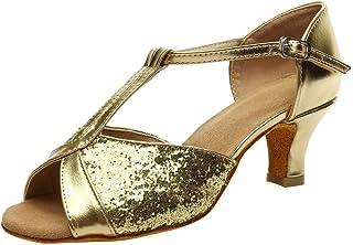 Sunnywill-Chaussures Cross Dance Femme à Talons Hauts, Sandales D'été