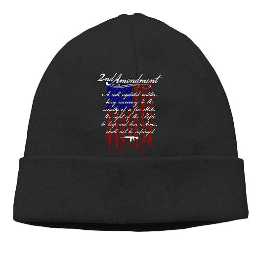 d344cda4302 2nd Amendment Brand Vintage American Flag Beanie Hat Classic Toboggan Hat  Winter Hats Warm Hat Beanies