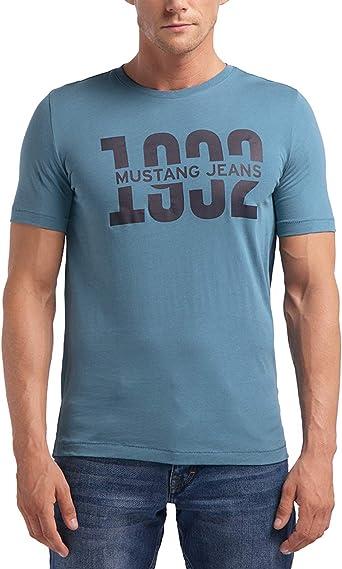 Mustang Alex C Print Camiseta para Hombre