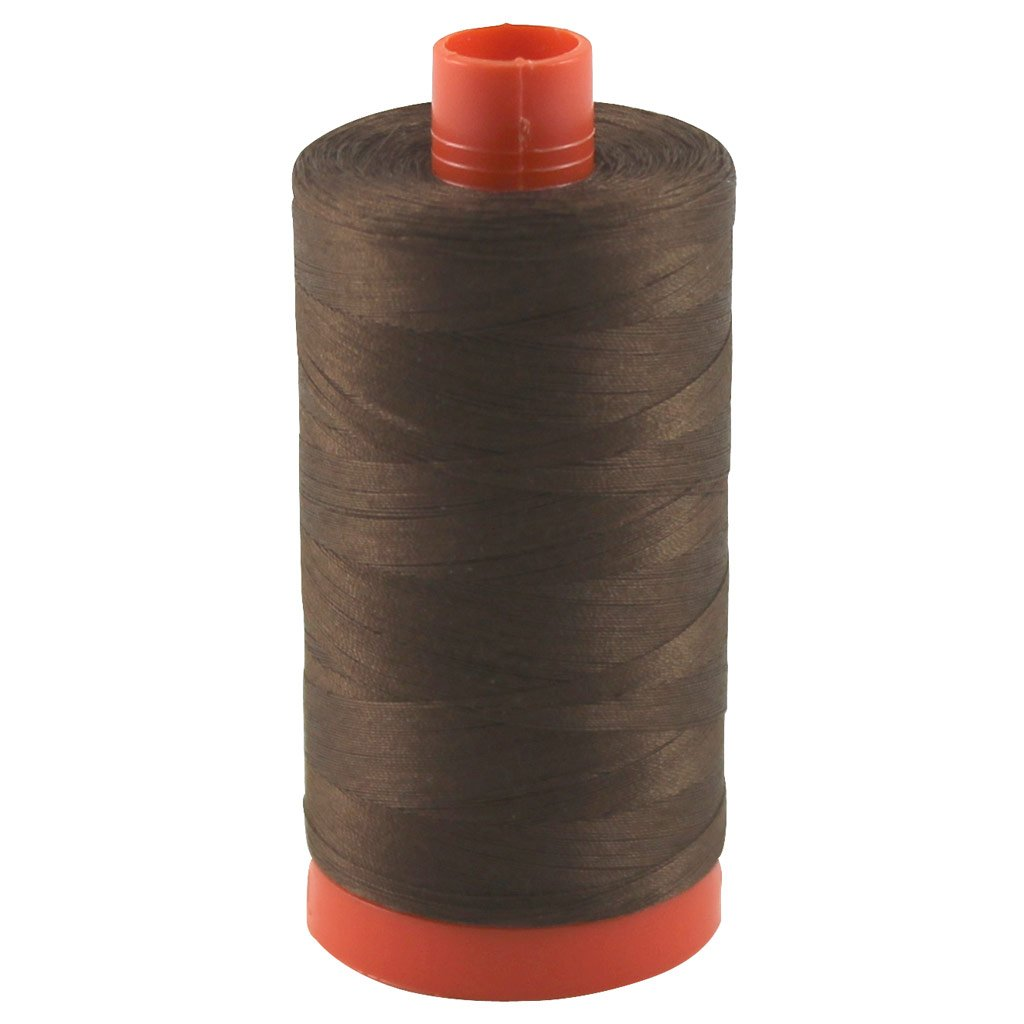 Aurifil Thread 2360 CHOCOLATE Cotton Mako 50wt Large Spool 1300m MK50 2360