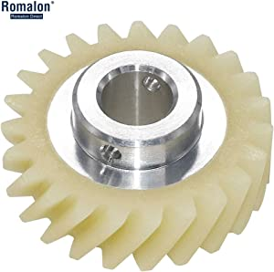 Romalon W10112253 Mixer Worm Gear Replacement Part-Exact Fit for Whirlpool&KitchenAid Mixers-Replaces 4161531 4162897 4169830 WPW10112253VP