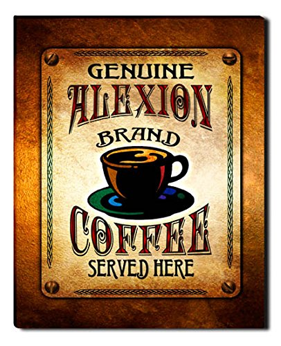Alexion Brand Coffee Gallery Wrapped Canvas Print