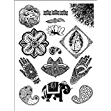 Dove of the East India Journey Foreign Acccents Clear Stamps (4-Inch by 7-1/4-Inch) 1 sheet per pack