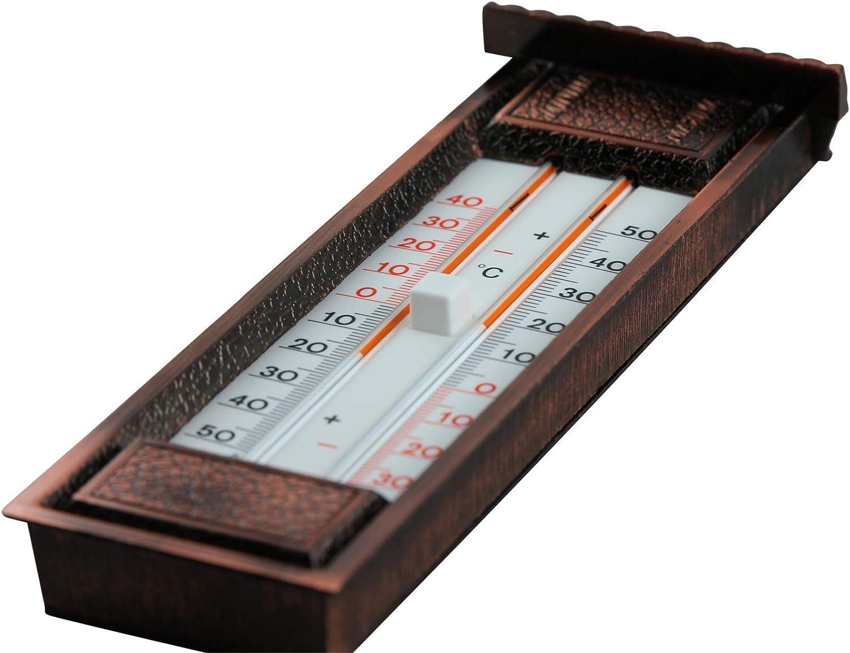 bimetal KOCH Minimum Maximum Thermometer with Hygrometer