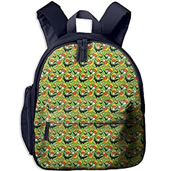 Kid Halloween Candy Bat Shoulder Backpack Bookbag