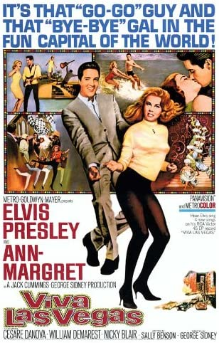 Posters USA MCP499 Viva Las Vegas Elvis Presley Movie Poster Glossy Finish