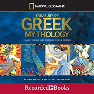 A Treasury of Greek Mythology Audiobook