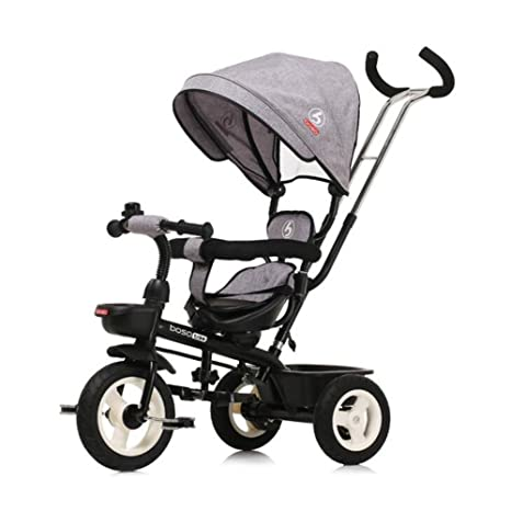 HUALQ Bicicleta Triciclo Bicicleta Cochecito Bicicleta Cochecito de bebé Carro de dirección