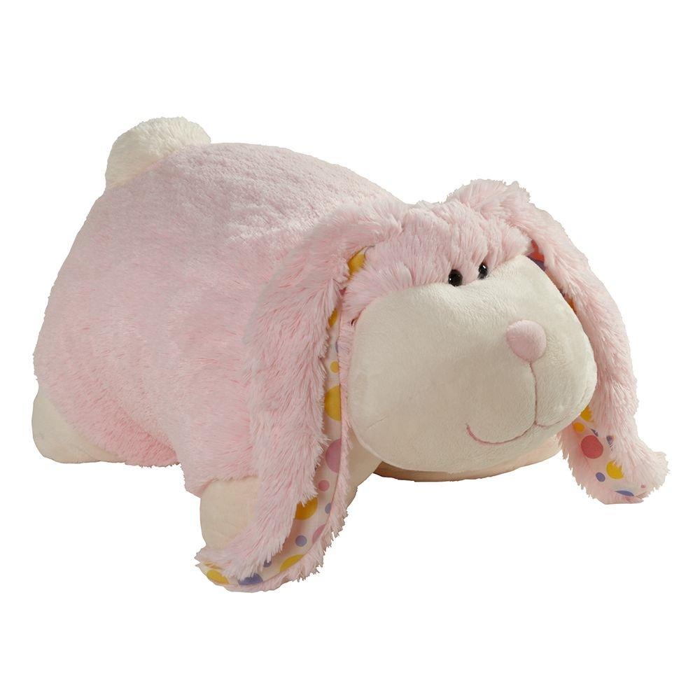 Pillow Pets Classic, Cuddly Bunny, 16'' Stuffed Animal Plush Toy