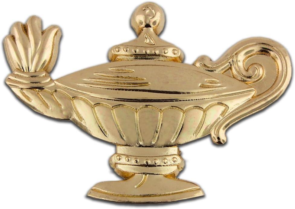 PinMart/'s Navy Blue Lamp of Knowledge Nursing Graduate Enamel Lapel Pin