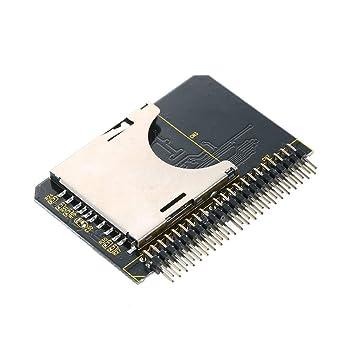 KKmoon SD SDHC SDXC MMC Tarjeta de memoria a 2.5 IDE Adaptador ...