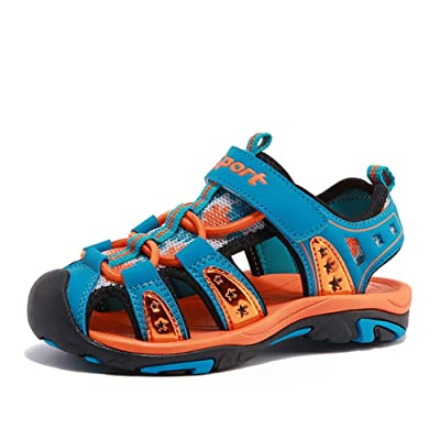 2017 Summer Athletic Sandal Outdoor Closed Toe Sport Walking Shoes for Boys