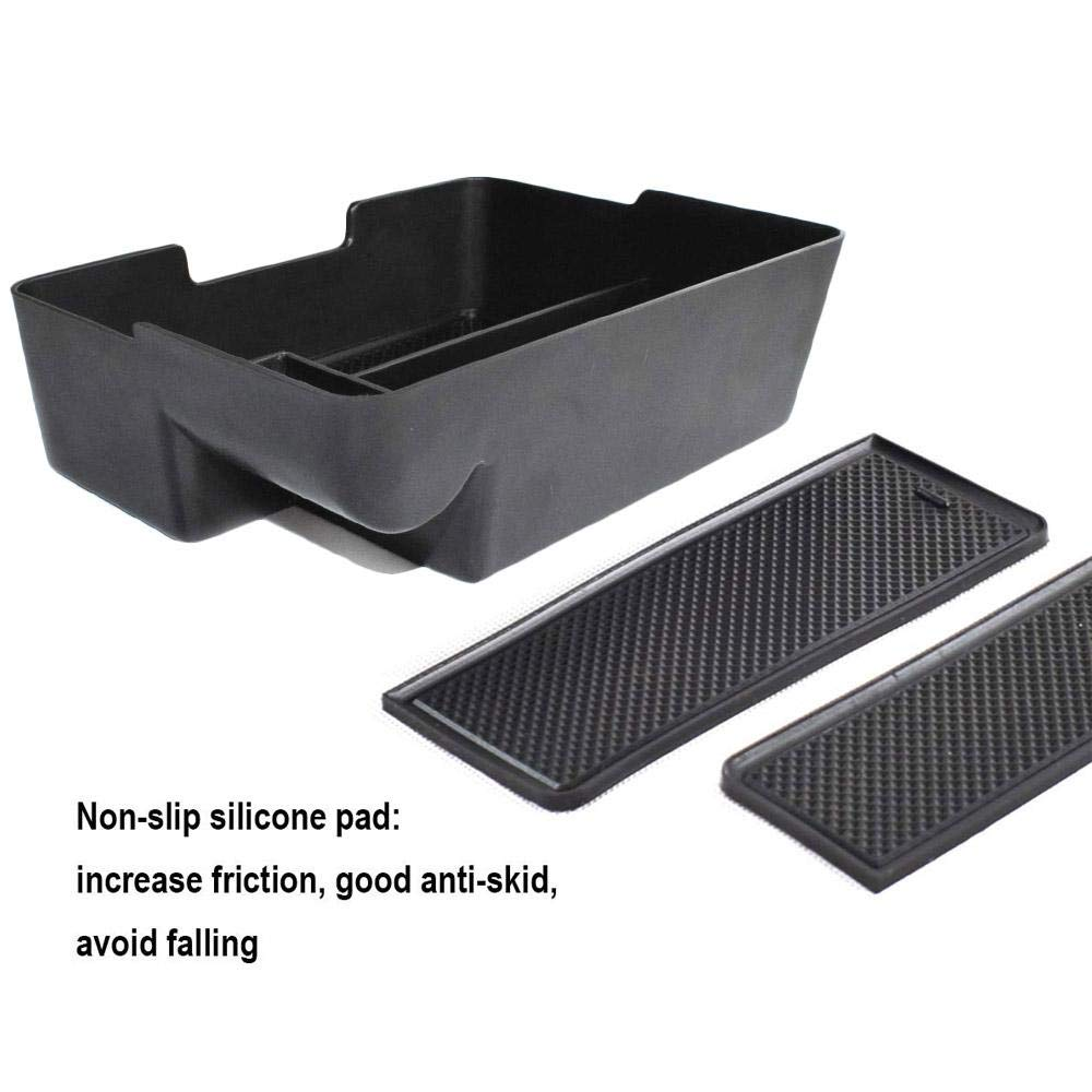 Yeldou Center Console Organizer Tray for Tesla Model 3 Accessories,Pallet Storage Box Container