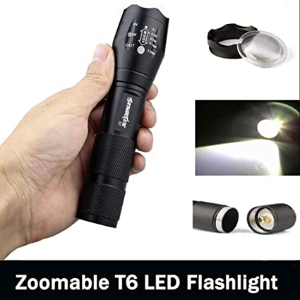 Review Handheld Flashlights,Lookatool 3500 Lumen