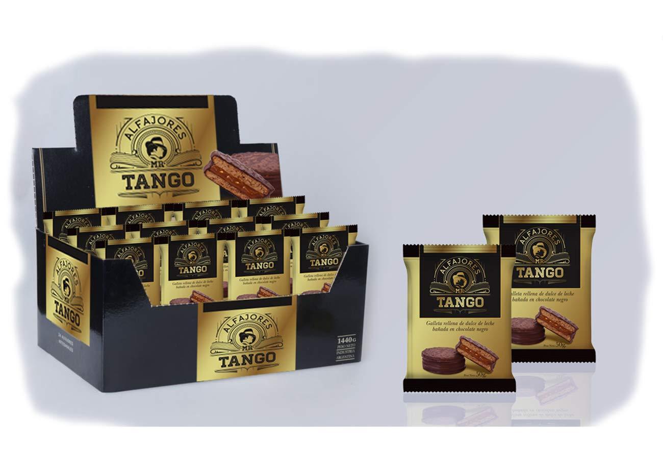 Alfajores de Chocolate rellenos de Dulce de Leche (Pack de 12 Blanco): Amazon.es: Alimentación y bebidas