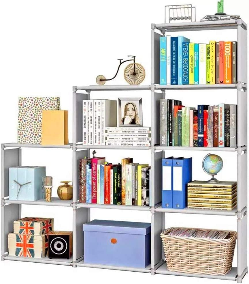 Rerii Cube Storage Shelves, Kids Bookcases and Bookshelf, Standing  Organizer Shelf, Closet Bedroom Storage Unit, 10 x 10 x 10 Inches