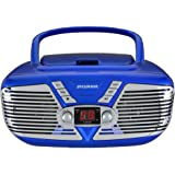 Amazon Price History for:Sylvania Portable CD Boombox with AM/FM Radio, Retro Style, (Blue)