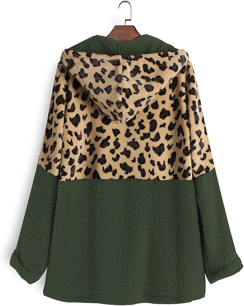 Coat Pocket Fleece Hooded Pockets Vintage Long Sleeve Outwear Floral Print Coats Lapel Outwear nikunLONG