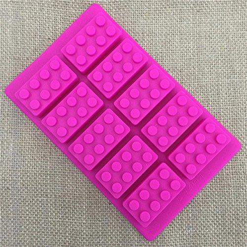 star-trade-inc – 1pcs DIYビルディングブロックアイス金型チョコレートキャンディケーキデコレーションツールシリコン金型パーティー装飾a001 ホワイト ALFT_100000560018 B07FPV1LFX  1PCS-7