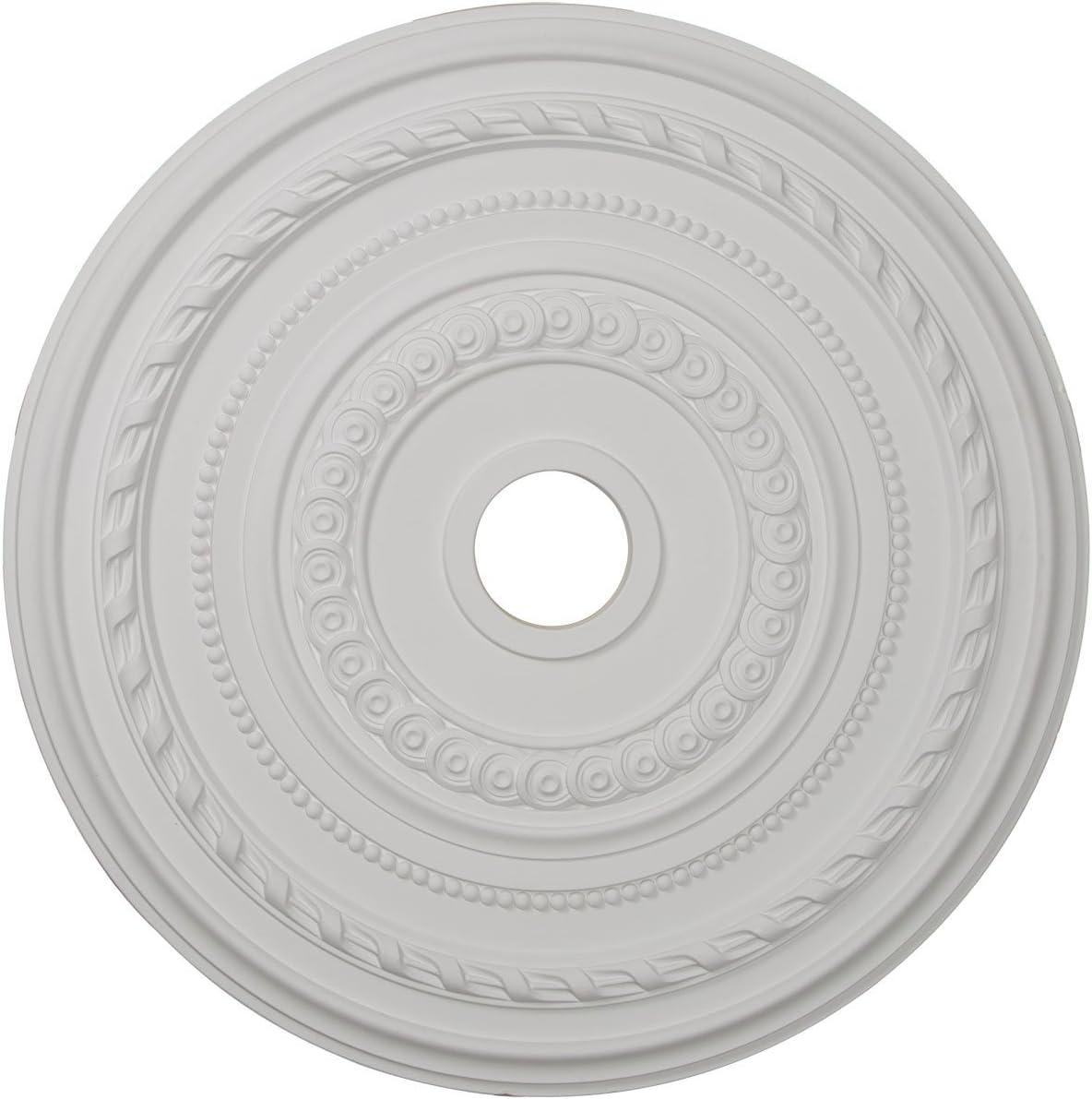 Ekena Millwork CM25CO Cole Ceiling Medallion, 25 3/8