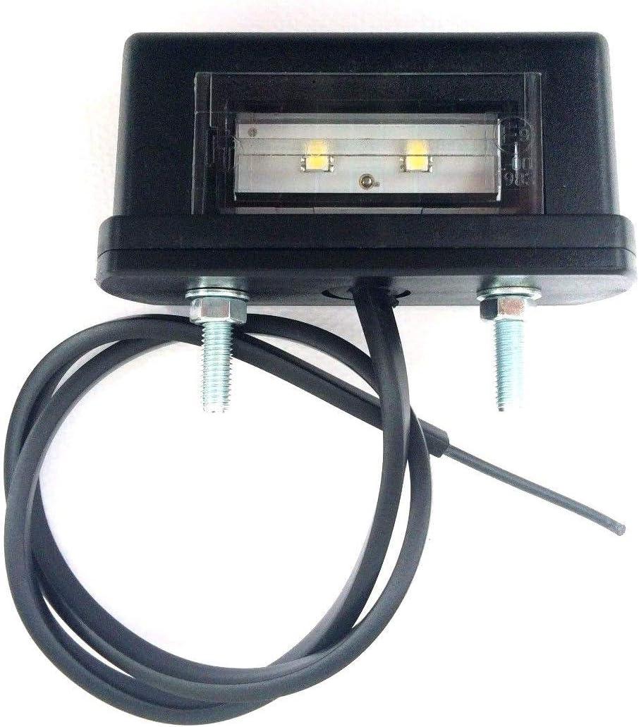 Led Kennzeichenleuchte Nummerschildleuchte Kennzeichenbeleuchtung Für Anhänger Baumaschinen Wohnmobile Trailer Wohnwagen Lkw Auto