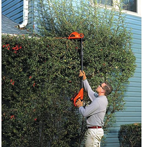 BLACK DECKER LPHT120B Bare Max Lithium Ion Pole Hedge Trimmer, 20-Volt Renewed