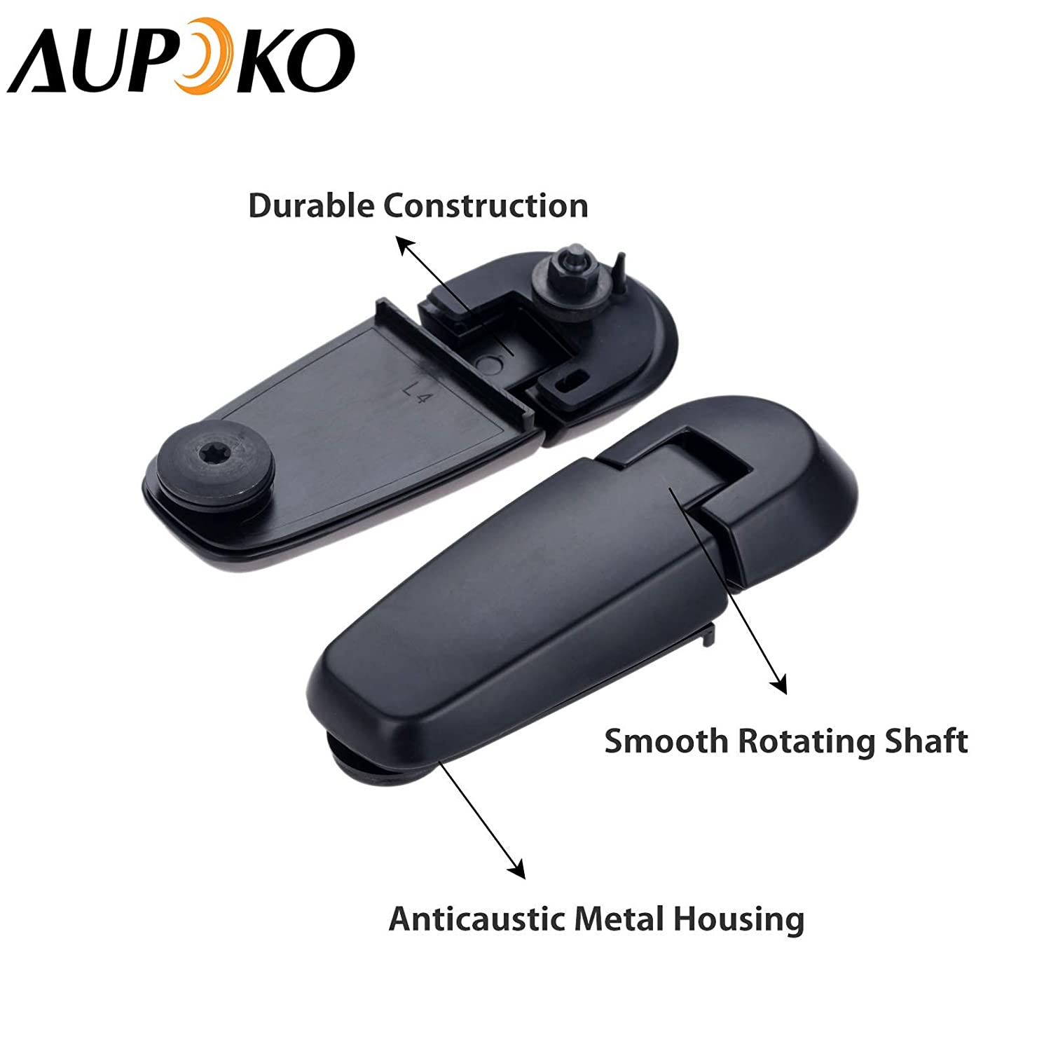 Aupoko Rear Window Hinge Liftgate Glass Hinge Set Left Right Pair Rear Lift Gate Hinge Replace# 6L2Z-78420A68-AA 6L2Z-78420A69-AA Mercury Mountaineer 2006-2010 Fits for Ford Explorer