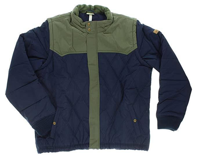 0876c221 Amazon.com: adidas Mens Two in One Padded Snow Jacket Navy Blue ...