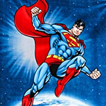 """Superman DC Comics Anti Pill Premium Fleece Fabric, 60"""" Inches Wide – Sold By The Yard (FB)"""