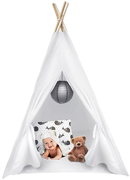 74a7c78d0 Amazon.com: Sorbus Kids Foldable Teepee Play Tent Playhouse Classic ...
