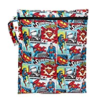 Bumkins Waterproof Wet Bag, Superman