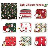 Aubliss 8pcs Fat Quarter Fabric Bundles