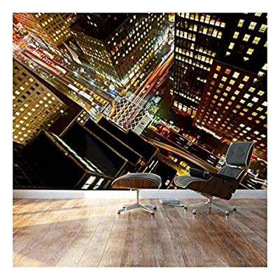 it is good, Majestic Picture, Eagle Eye View of 42nd Street in New York City Landscape Wall Mural