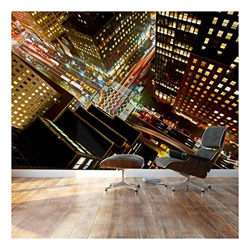 Eagle Eye View of 42nd Street in New York City Landscape Wall Mural
