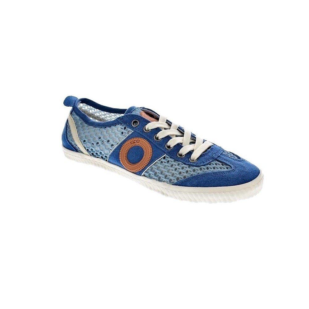 Aro Sunny - Zapatillas Bajas Mujer Azul Talla 36: Amazon.es: Zapatos y complementos