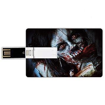 8GB Forma de tarjeta de crédito de unidades flash USB Zombie ...