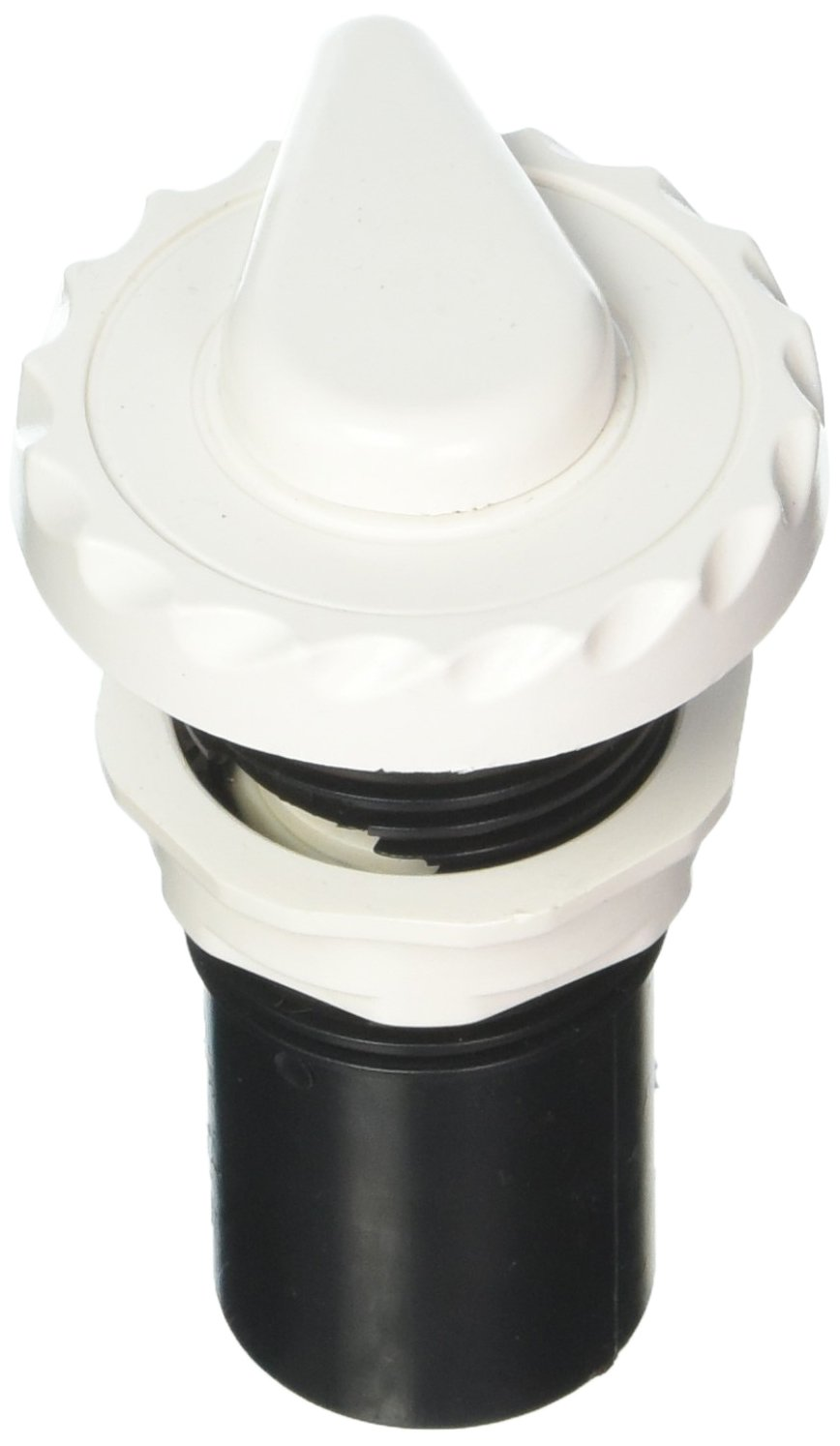 Waterway Plastics 806105115829 Scalloped White 1'' Top Access Silent Air Control