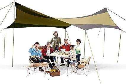CarCover Toldo de Lona de Camping portátil Ripstop Sun ...