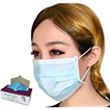 Marygel 50 Counts Disposable Procedure Surgical Face Mask (Blue)